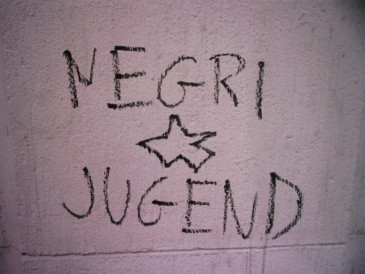 Negrism on the wall